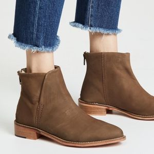 free people century ankle boots 38 new